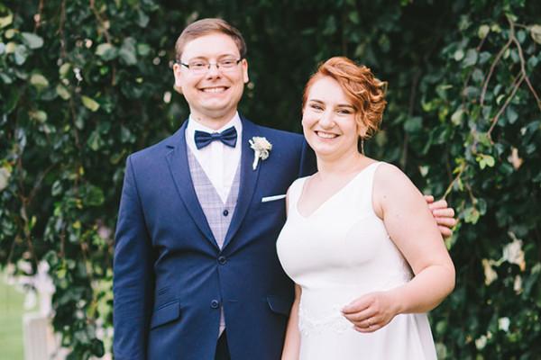 Agnieszka i Kamil | pastelowy ślub w plenerze